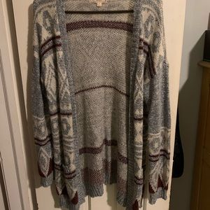 Knit Cardigan, Barely Worn